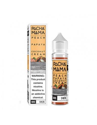 E-liquide Peach Papaya Coconut Cream...