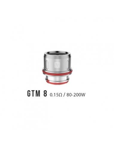 Résistances GTM8 (0.15 ohm) Vaporesso...