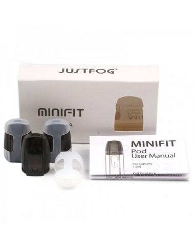 Pods de remplacement Minifit Justfog...