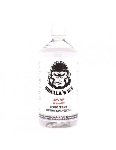 Base 30%PG / 70%VG 1L Gorilla's DIY...