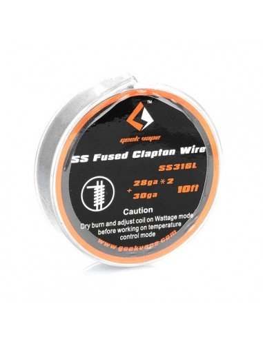 SS Fused Clapton Wire (28GA*2 + 30...