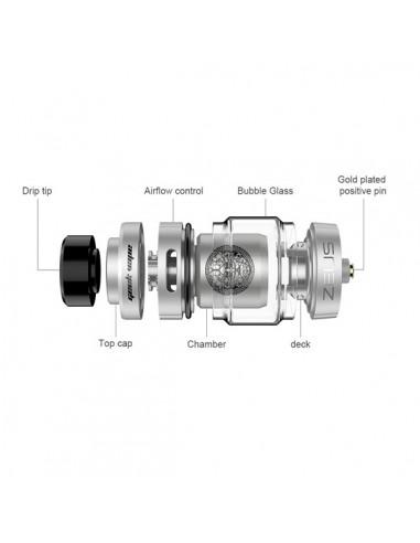 Zeus Dual RTA Bulb 5.5ml Geekvape
