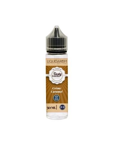 E-liquide Crème caramel 50 ml - Tasty