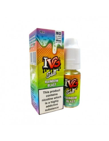 E-liquide Rainbow Blast 10ml Nic Salt...