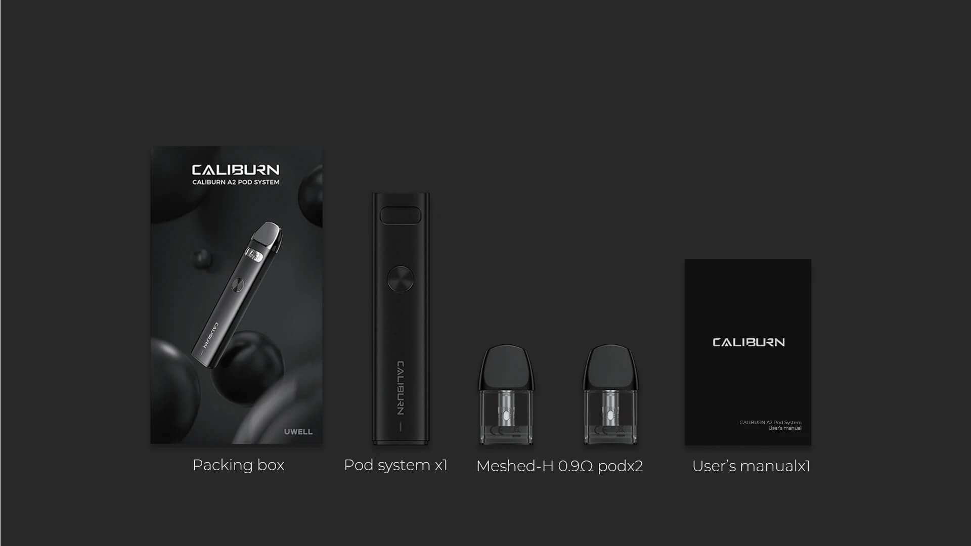 pack caliburn a2