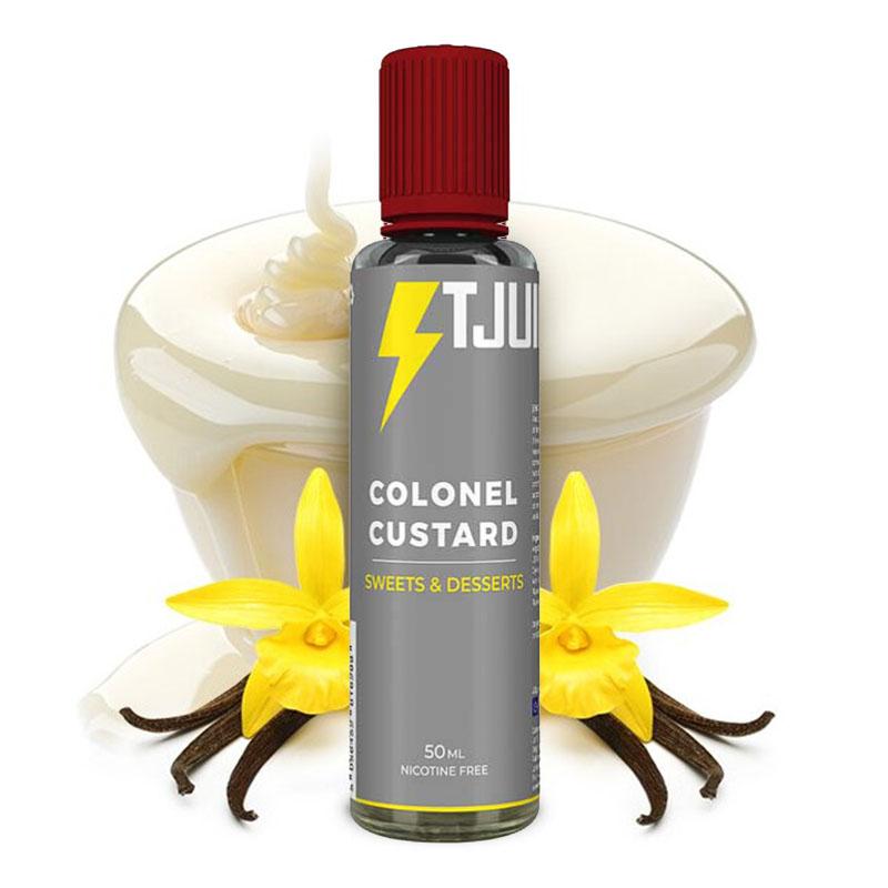 e-liquide colonel custard