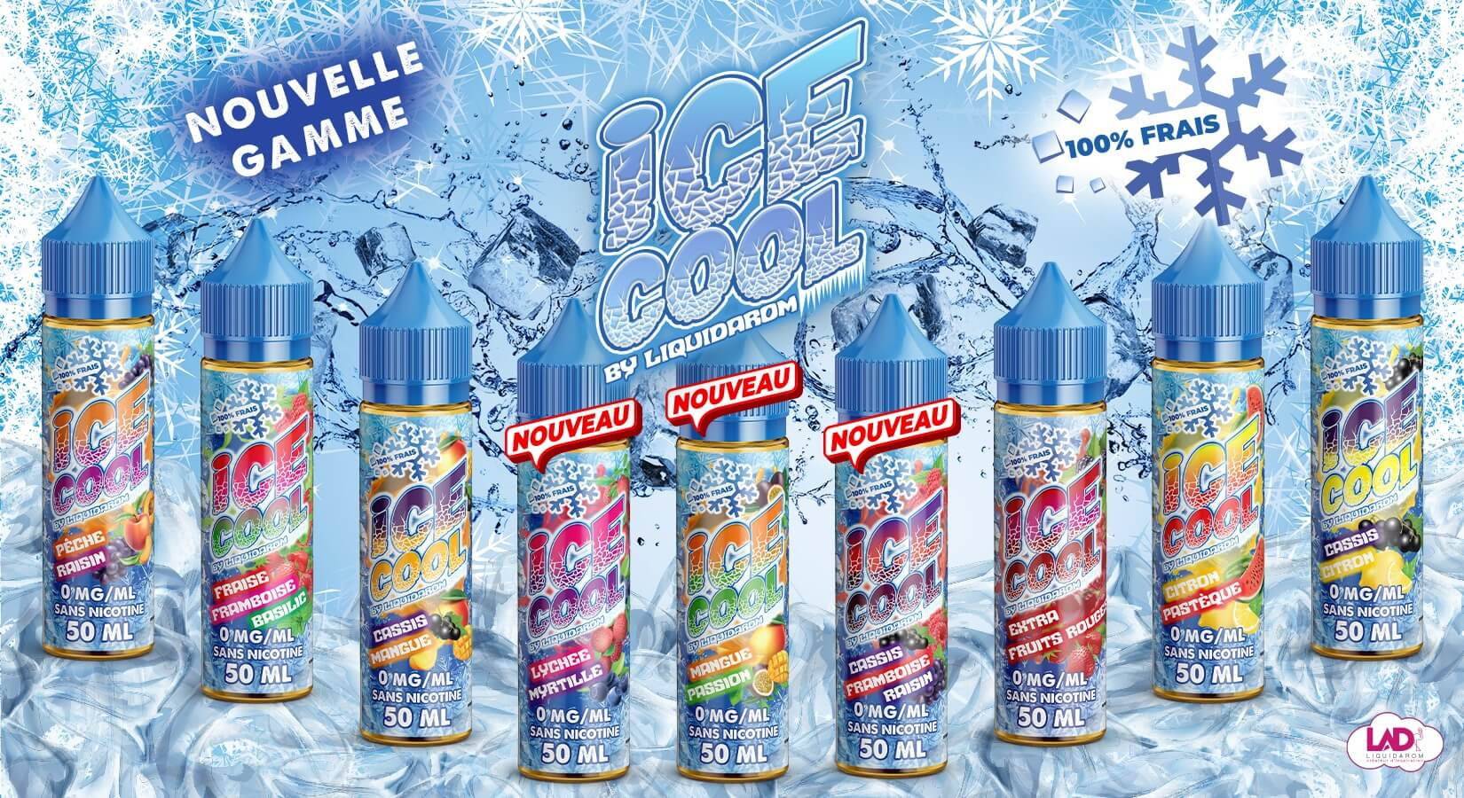 e-liquide ice cool