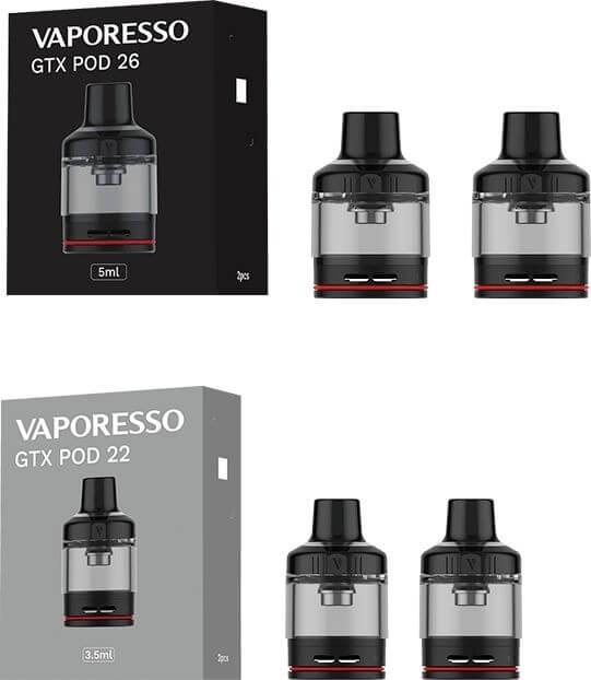 pack Cartouche GTX Go 26